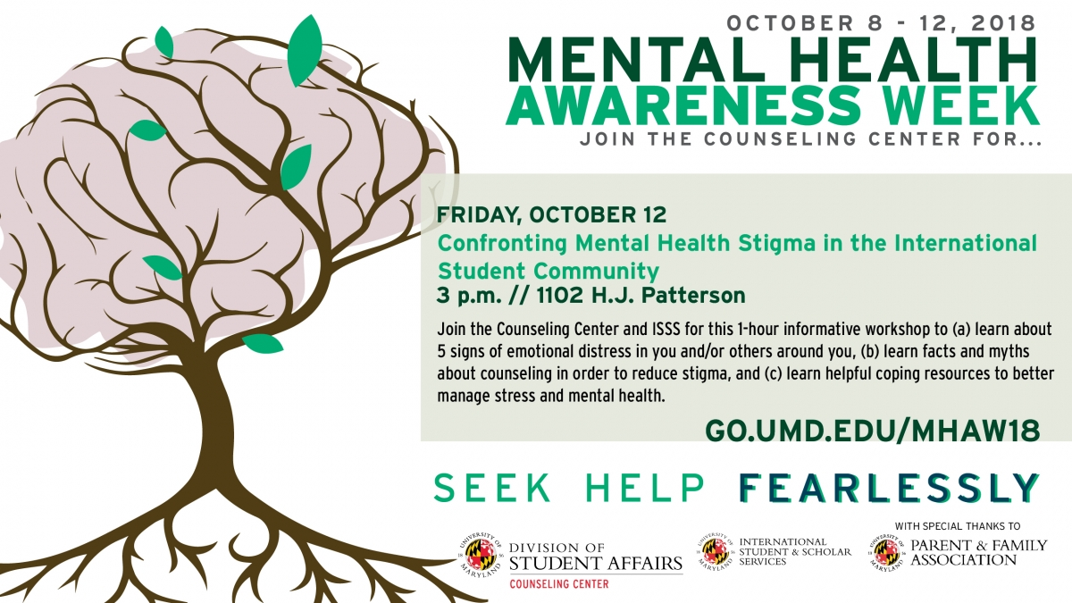 Confronting Mental Health Stigma In The International Student